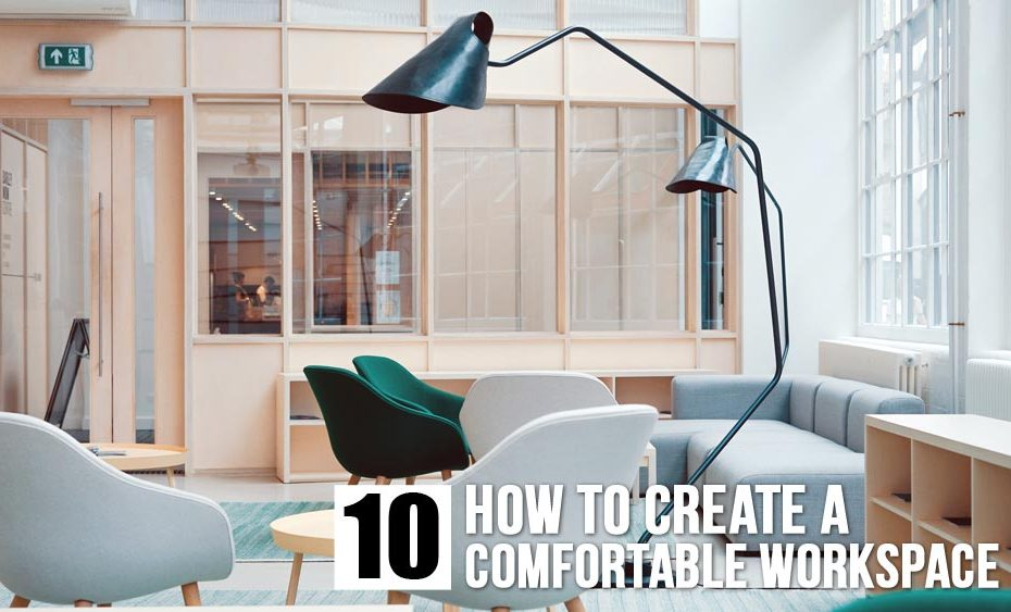 How to create a comfortable workspace - agp wood panel