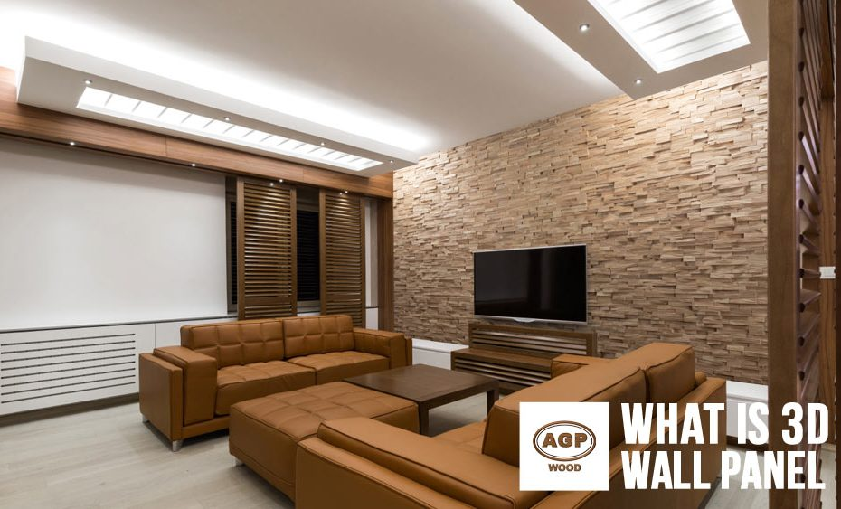What is 3D Wall Panel - AGP Wood Wall Panel Interior